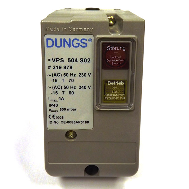 Vps 504 s02 dungs valve testing system for multiple actuators max.