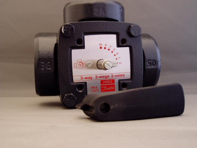 Danfoss Hre3 50mm 2 Bsp Rotary Shoe Valve Esbe 3g50