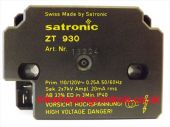 Satronic Honeywell ZT930 110v Transformer 13224