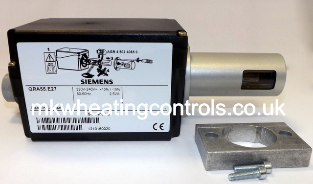 Siemens QRA55 E27 siemens landis qra55 e27 230v c31057z siemens duct detector wiring diagram at panicattacktreatment.co
