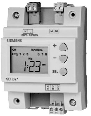 siemens seh62 1 7 day digital time switch with manual override siemens 7sj62 relay manual siemens 7sj62 relay manual