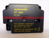 Satronic ZT930 240V IGNITION TRANSFORMER Double outlet