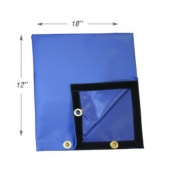 "Small Blue Bag Actuator Cover 10"" x 12"""