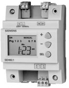 Siemens SEH62.1 7 Day Digital Time Switch With Manual Override