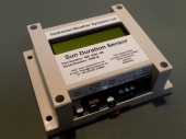 Sun Duration Sensor OLED display